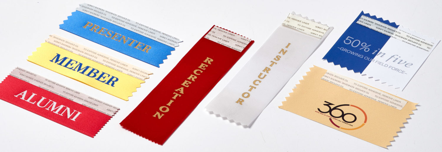 Assorted Badge Ribbons
