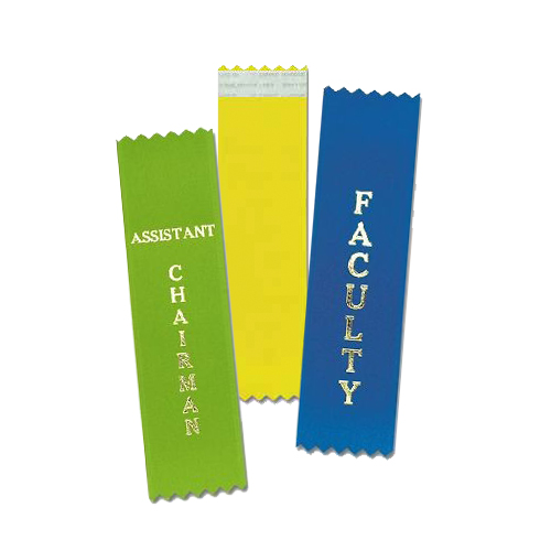 Vertical Badge Ribbons