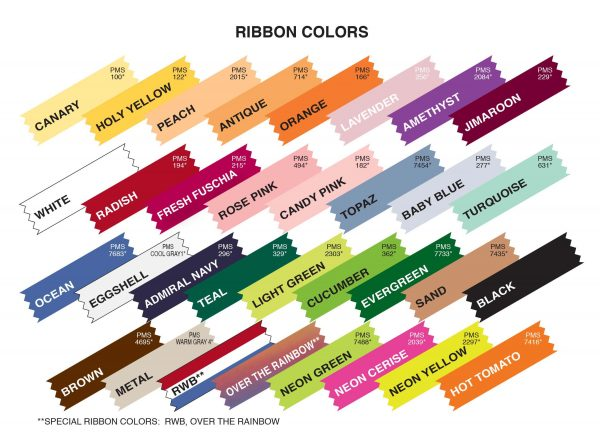 RIBBON COLOR LIST-rev 11-21-2018