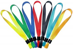 Colored Cloth Wristbands